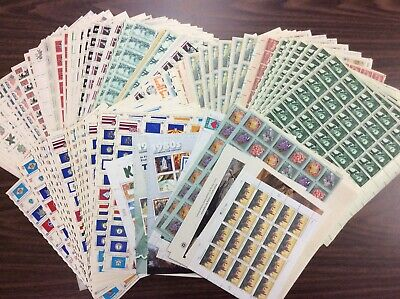 Discount Stamps: $636.70 Face Value, Lot Of Mint Sheets, New Condition