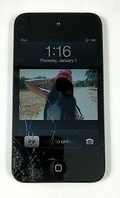 Apple iPod Touch 4th Generation-Black-8 GB Fully Functional PLEASE READ