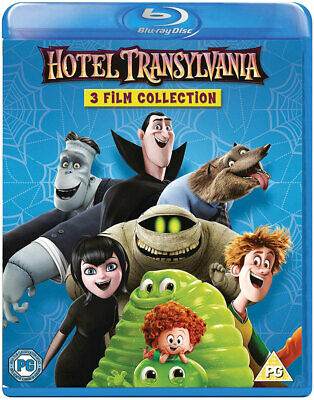 HOTEL TRANSYLVANIA 1-3 [Blu-ray Set] Animated Trilogy 3-Movie Collection 1 2 3