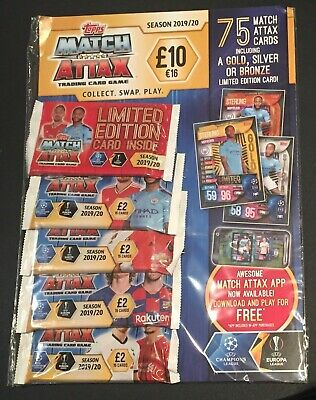 Match Attax 2019/20 Multi Pack £10 Multipack new