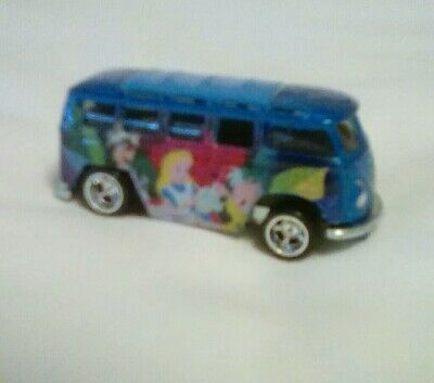 Hot Wheels Disney Classics Alice In Wonderland Volkswagen Deluxe Station Wagon
