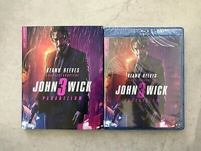 John Wick: Chapter 3 - Parabellum (Blu-ray + DVD, Bilingual)