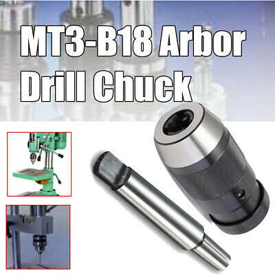 Milling machines Drill Chuck 1-16mm Lathe Keyless MT3-B18 Kit Durable Hot