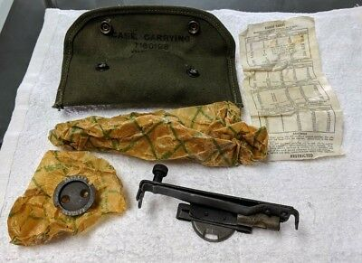 WWII Era Grenade Launcher Sight M15 for M1903, M1 Carbine, M1 Garand 1944 NOS