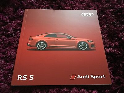 Audi RS 5 Brochure 2018 Edition 1.0 - June 2017 UK Issue