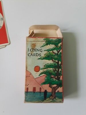 I Ching Antique Cards Pack Tarot Complete Deck made in Switzerland 80 card set