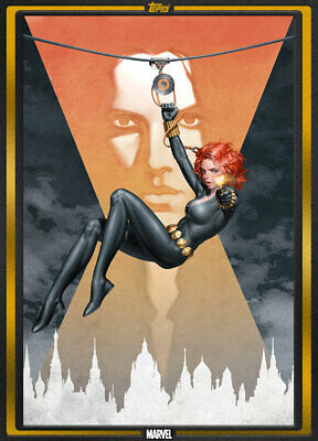 Topps Marvel Collect Web of Black Widow #1 Comic Book Day Sep 4th GOLD [DIGITAL]