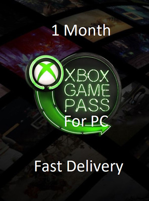 1 Month Xbox Game Pass for PC KEY | NA Region | Fast Delivery