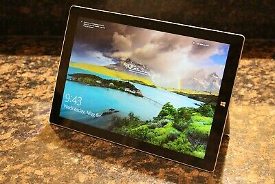 Excellent Microsoft Surface Pro 3 Wi-Fi, 12in Silver - i3-4020Y, 128GB, 4GB RAM