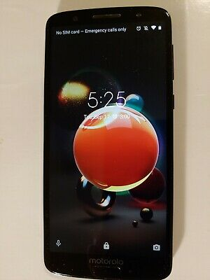 Motorola Moto G6  - 6th Generation - 32GB google fi Black (Unlocked) Smartphone