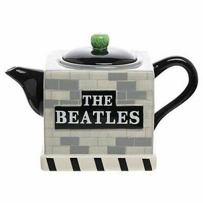The Beatles Abbey Road Sculpted Ceramic Teapot