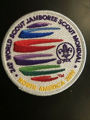24th World Scout Jamboree 2019 IST Staff Patch Summit Uniform Badge BSA USA WSJ