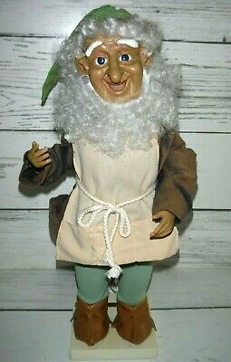 Vintage Telco MOTION-ettes of Christmas Animated ELF Workshop Worker