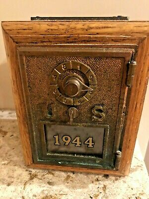 Vintage US Post Office LockBox Combination Bank Limited Edition