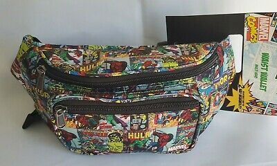 Marvel Comics Avengers Endgame Iron Man Superhero Fanny Pack Bag
