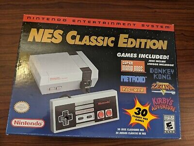 Authentic Nintendo Classic Edition NES Mini Game Console USA Brand New FREE SHIP