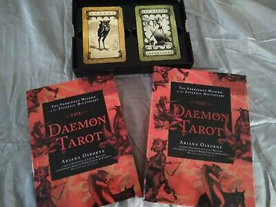 The Daemon Tarot : The Forbidden Wisdom of the Infernal Dictionary by Ariana Os…