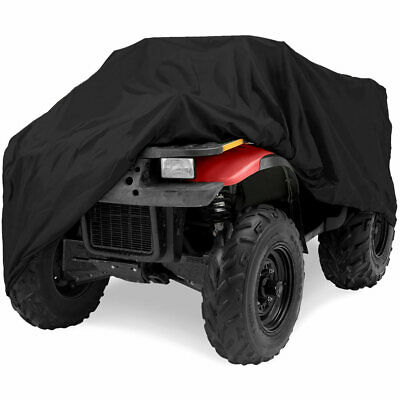 Large Size Full ATV Cover Breathable Rain Snow Dust Heat Resistant Protection