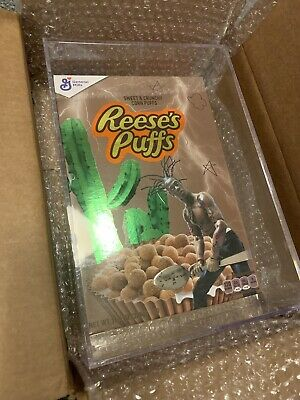 Travis Scott Cactus Jack Cereal Reeses Puffs - AUTHENTIC, NEW, SOLD OUT