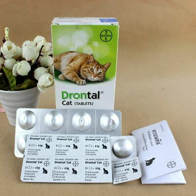 Bayer drontal for Cats & Kittens Dewormer  2 Box/ 80 tablets