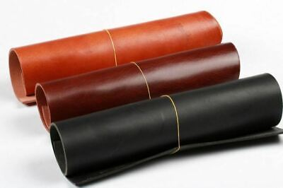 3~4mm Thick vegetable tanned cowhide genuine leather craft sheath belt material
