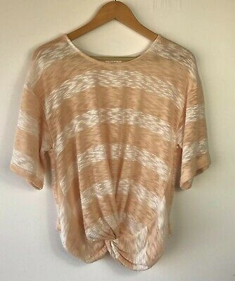 NEW Anthropologie Wylie Striped Top by Deletta  Size M
