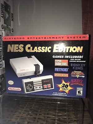 Nintendo NES Classic Edition Mini Console - 100% Authentic - 30 Classic Games