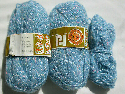 Knitting wool Blend pure wool 8 ply 93g