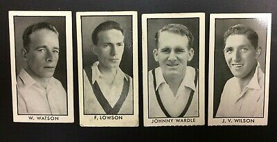 County Cricketers, 1957, D.c.thompson Trade Cards, #   Vgc
