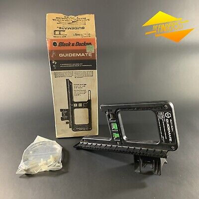 Vintage *New Old Stock* Black & Decker 'Guidemate' Precision Drill Guide Boxed