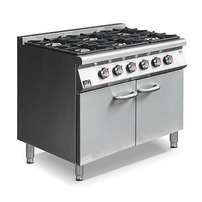 AG 6 Burner Stove with cabinet NG AG Equipment|