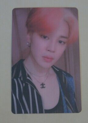 BTS Map of The Soul Boy with Luv Persona Official PhotoCard Jimin  (Ver. 2)