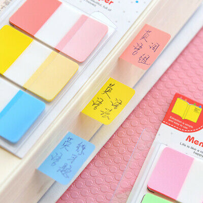 Random Gradient Trapezoidal Sticker Memo Bookmark Index Pads Flags Sticky Notes