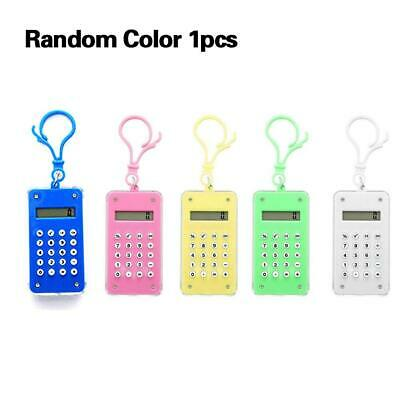 Candy Color Mini Calculator Cute Simple Portable Mathematics Learning Tool Best