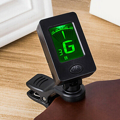 Acoustic LCD Clip-on Electronic Guitars Tuner For Chromatic Bass Violin Ukulele