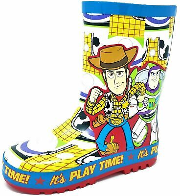 Kids Childrens Boys Girls Toy Story Wellies Snow Rain Wellington Boots Size 6-12