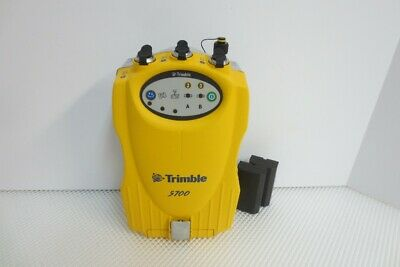 Trimble 5700 GPS Receiver with  firmware 2.32, Software, New batteries, Manual