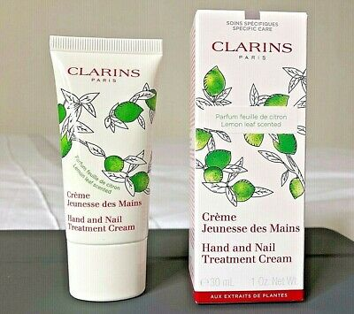 Clarins Hand & Nail Care Lemon Leaf Scented & Nail Treatment Cream 30ml