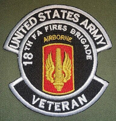 US ARMY 18th FIELD ARTILLERY FIRES SHOULDER UNIFORM PATCH NEW