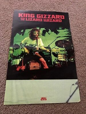 King Gizzard and the Lizard Wizard POSTER for Gumboot Soup CD