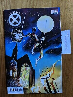 House Of X #5 Incentive 1:10 Mike Huddleston Variant Cover G Marvel 2019 NM