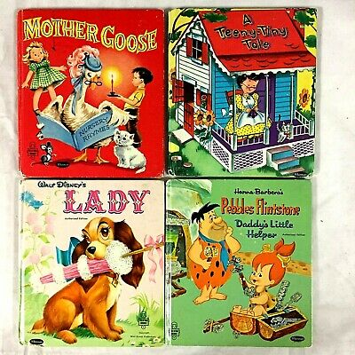 Tell-A-Tale Books (Mother Goose, Disney etc...) x10