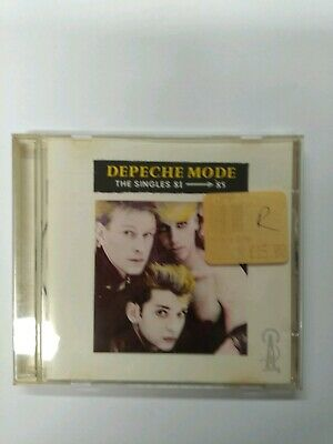 Depeche mode the singles 81-85 CD (Original Issue)