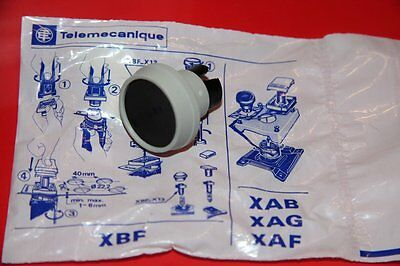 Telemecanique Xbf-A 112 Push Button, Black Xbf a 112 New
