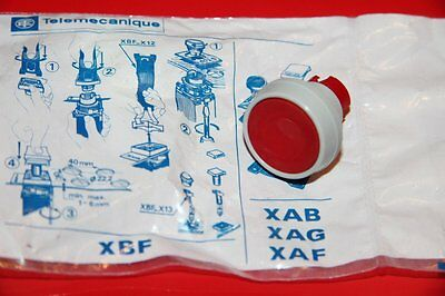 Telemecanique Xbf-A 114 Push Button, Red Xbf a 114 New