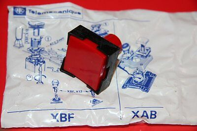 Telemecanique Xbf-G 114 Push Button, Red Xbf G 114 New