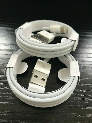 GENUINE Apple 1M Lightning USB charger Lead Data Cable For iPhone 5 5S 6 6S 7 XS
