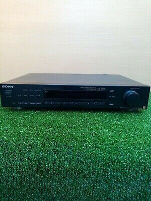 Sony ST-S570ES Tuner RDS Made In Japan Fully Working Tested FM-AM PAT TESTED