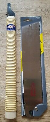 Traditional Japanese pull saw and blade crosscut hardwood cutting rattan handle