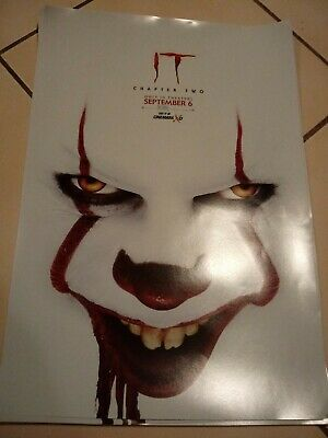 Stephan King  IT Chapter 2  Original Movie Promo Poster